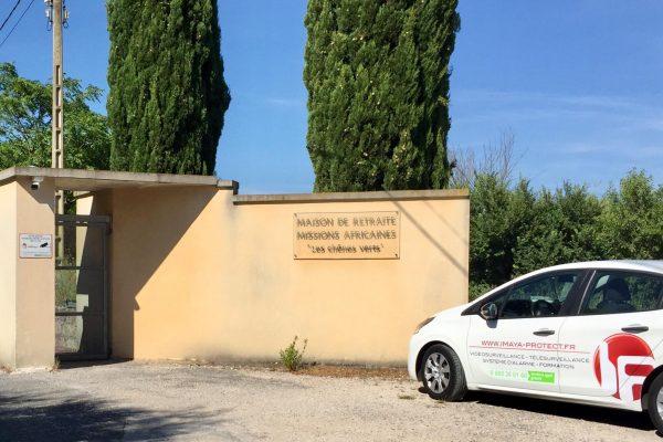 vidéosurveillance Montferrier maison de retraite des missions africaines imaya protect