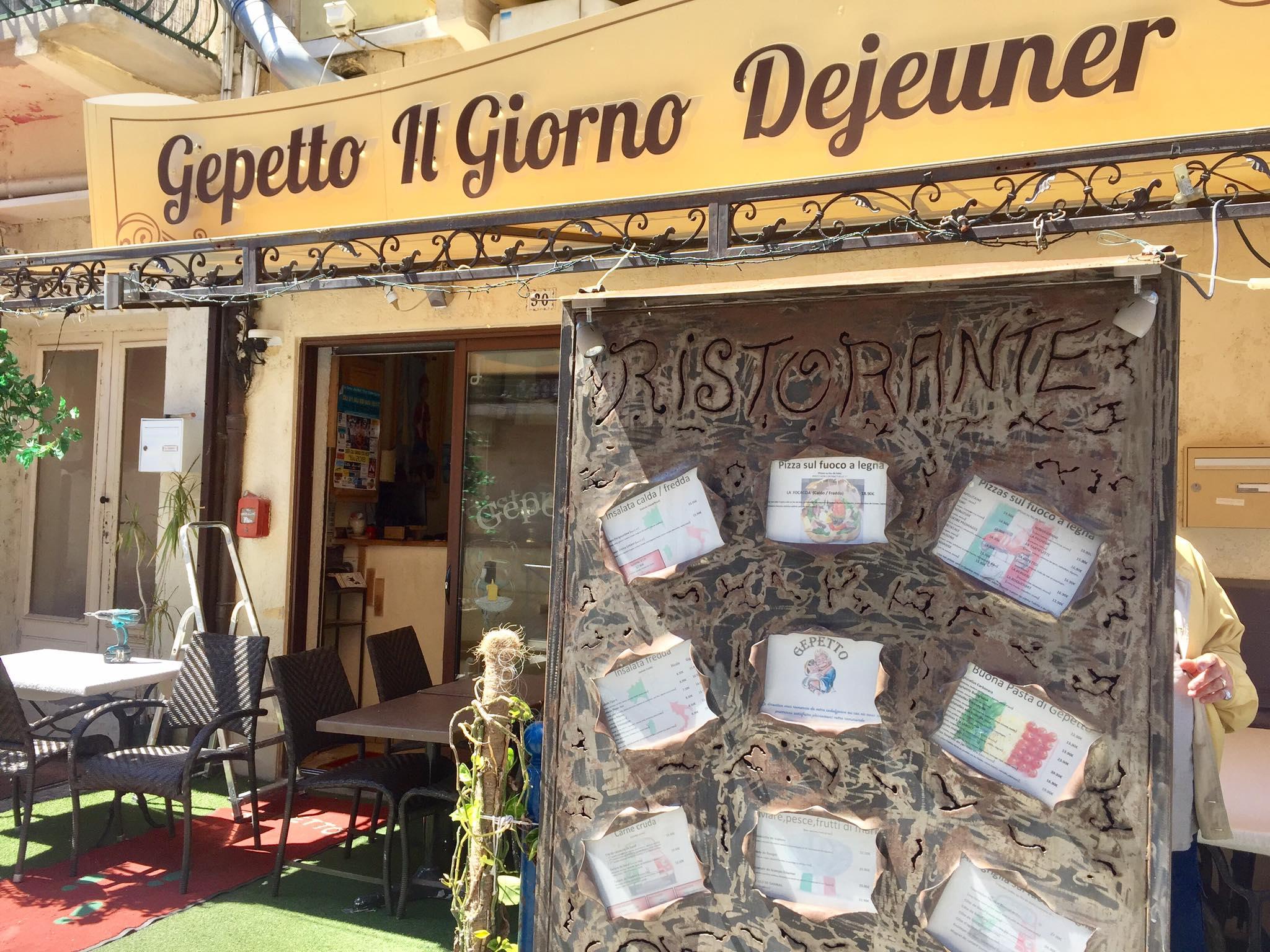 Nouvelle Référence : restaurant Gepetto au Grau du Roi