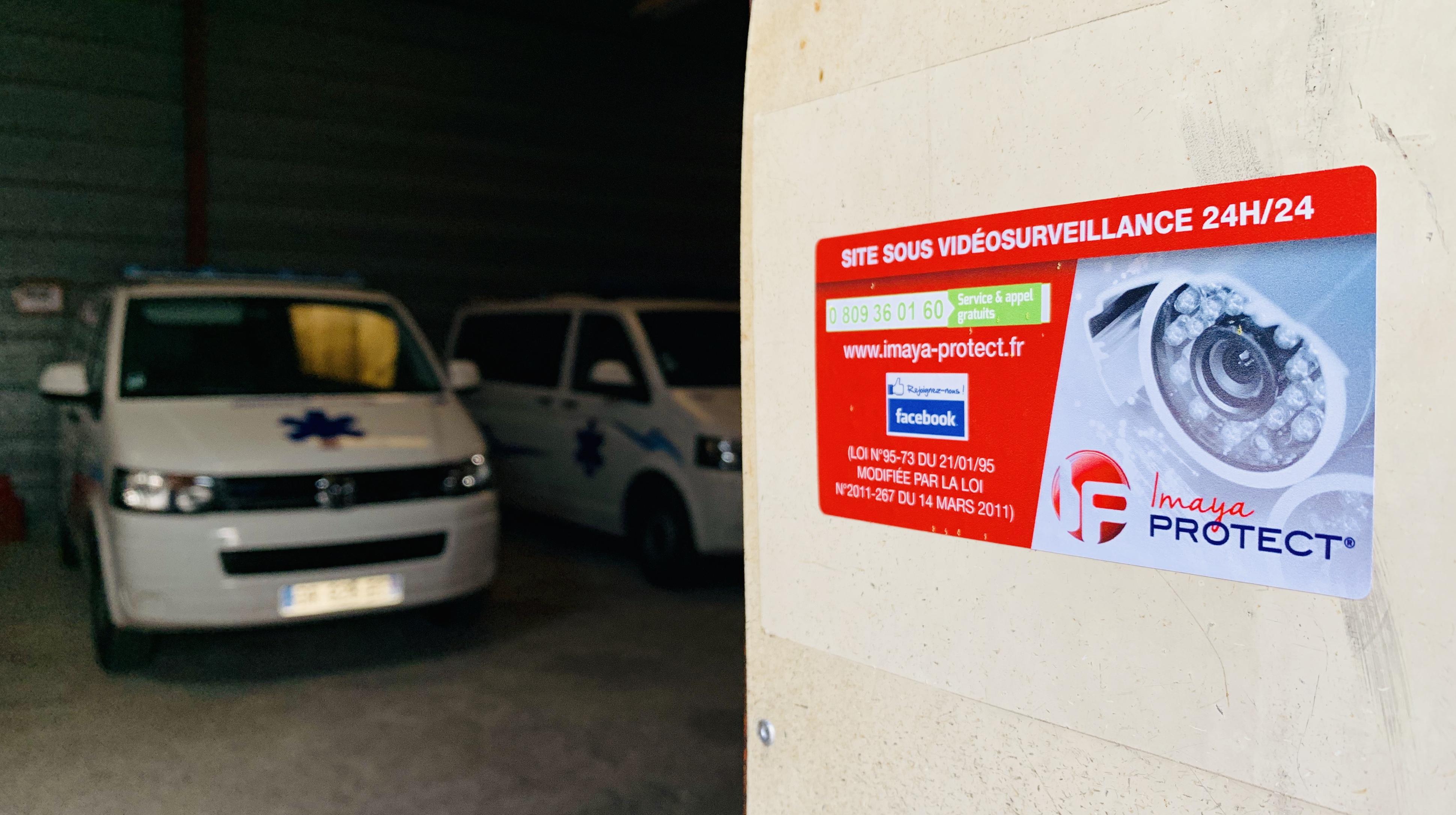 Nouvelle référence vidéosurveillance AMBULANCE SERVICE LANGUEDOCIENNE à Juvignac.
